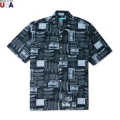 Hull of Fame Print Shirt Black