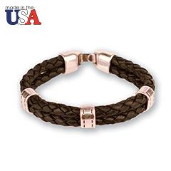 Charleston Braided Bracelet Black
