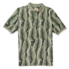 Palm Leaves Polo Green