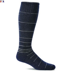 Therapeutic Compression Socks Navy
