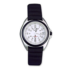 White Dial Sportstrap Watch White