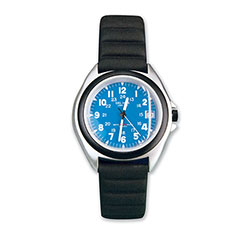 Blue Dial Sportstrap Watch Blue