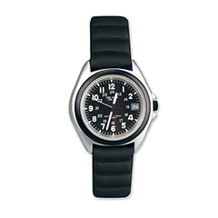 Black Dial Sportstrap Watch Black
