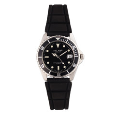 Black Sportstrap Watch Assorted