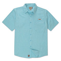 Tamarindo Short Sleeve Shirt Aqua Green