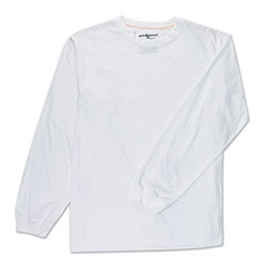 Protective Tech Long Sleeve T-Shirt White