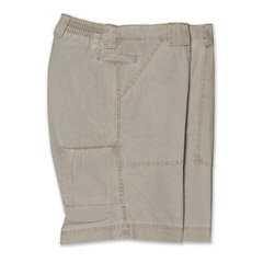 Island Long Neck Short Khaki Tan
