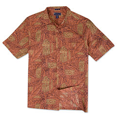 Montego Bay Silk Shirt Adobe