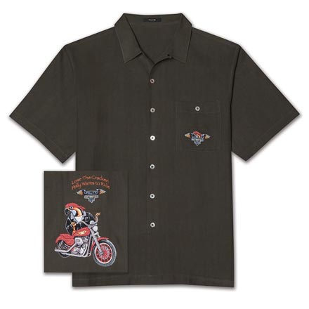 Polly Wants To Ride Shirt 1