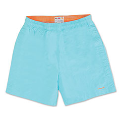 Bay Breeze Volley Swim Short Aqua Sky