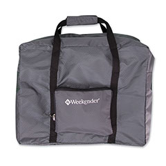 Packable Duffle Bag Grey