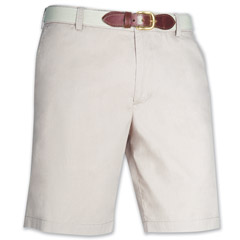 Port of Call Plain Short Desert Tan