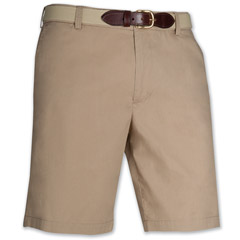 Port of Call Plain Short Khaki Tan