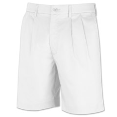 Galapagos Pleated Short White