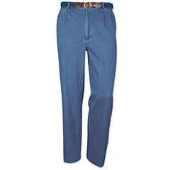 Trinidad Pleated Denim Pant