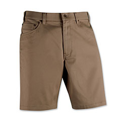 Stone Washed Jean Short Taupe