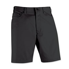 Stone Washed Jean Short Graphite