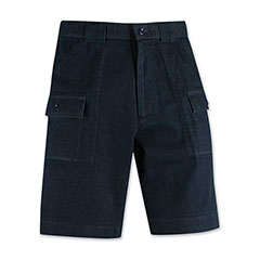 Valparaiso Denim Cargo Short Midnight Denim