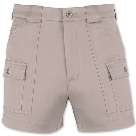 Men's 670170-Original Stretch Short by Sportif in DesertTan