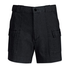 Frequent Traveler Denim Short Black Denim