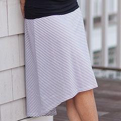 Catina Hi-Low Skirt
