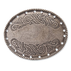 Oval Flower Buckle